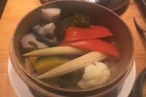 温野菜のせいろ蒸し