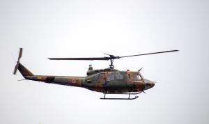 自衛隊ヘリコプターUH1J