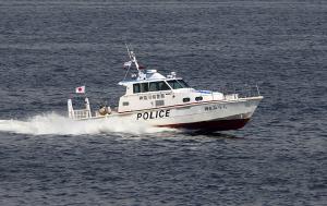 横浜水上警察署の警備艇「神6 みうら」