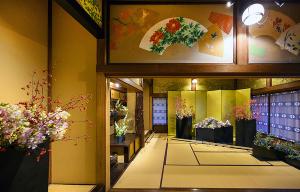 ホテル雅叙園東京 いけばな×百段階段2019
