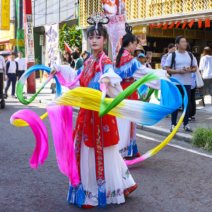 横浜中華街「2019慶祝国慶」