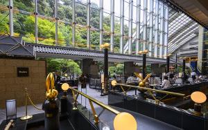 ホテル雅叙園東京のカフェラウンジ「Pandora(パンドラ)」