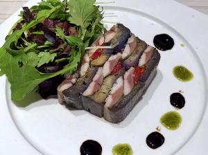 秋刀魚と茄子のテリーヌ