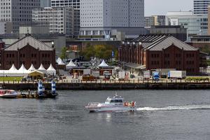 横浜水上警察署の警備艇「神3 つるぎ」