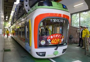 上野動物園のモノレール