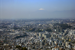 2019年11月1日の富士山