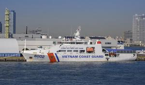 ベトナム海上警察の巡視船「CSB 8002」
