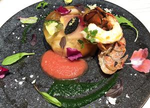 錦江湾ブリと彩り野菜のアスピック