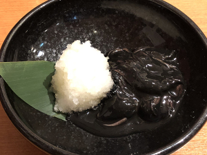 蛍烏賊(ホタルイカ)黒造り