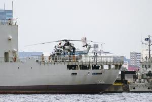 海上保安庁の巡視船「PLH32 あきつしま」&搭載ヘリ「EC225LP Super Puma Mk2+」