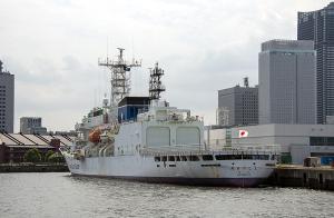 海上保安庁の巡視船「PLH32 あきつしま」