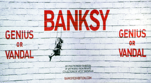 BANKSY 展 GENIUS OR VANDAL?(バンクシー展 天才か反逆者か)