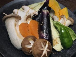 旬の焼き野菜盛り合わせ