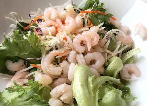 海老グリーンサラダ