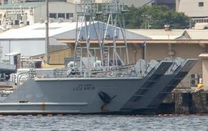 米陸軍の汎用揚陸艇USAV Cedar Run (LCU 2010)