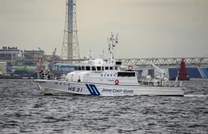海上保安庁の測量船「HS 31」