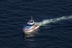 神奈川県警の警備艇「神2あしがら」