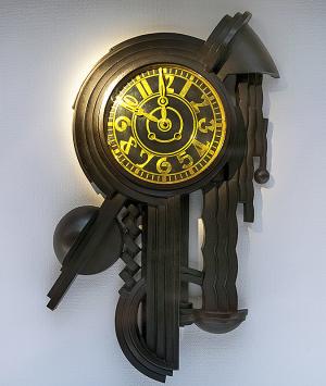 壁面への時計 内藤春治 1927年