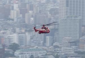 東京消防庁「ヘリ7 こうのとり」