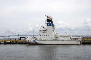 海上保安庁の消防船「FL01 ひりゅう」