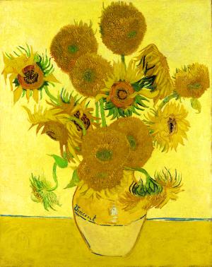 Vincent van Gogh 《ひまわり》 1888年