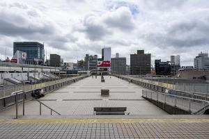 パンダ橋(上野駅東西自由通路)