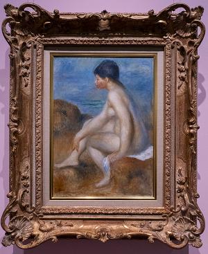 ルノワール《浴女》