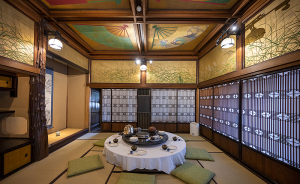 百段階段「草丘の間」 ホテル雅叙園東京