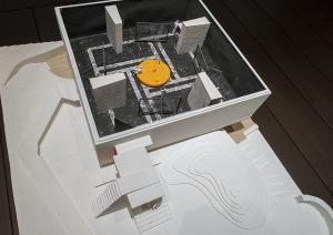 ヴェネチア ビエンナーレ 日本館展示模型