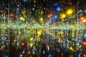 無限の鏡の間 - わが永遠の魂は光放って燃えてゆく