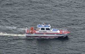 横浜水上警察署の警備艇「神5はこね」