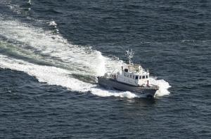 巡視艇「PL36 きりかぜ」