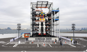 動く等身大ガンダム「GUNDAM FACTORY YOKOHAMA」