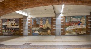 柳原良平の壁画