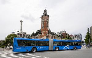 連節バス「YOKOHAMA BAYSIDE BLUE(ヨコハマ・ベイサイドブルー)」