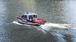 神奈川県横浜水上警察署 警備艇「神7 ちどり」