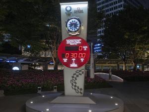 東京オリンピック2020 カウントダウンクロック