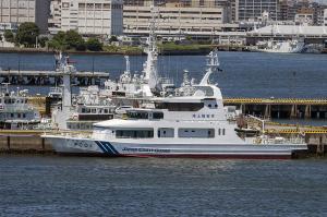 海上保安庁の巡視艇「PC-01 まつなみ」