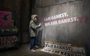 WHO IS BANKSY? バンクシーって誰?展