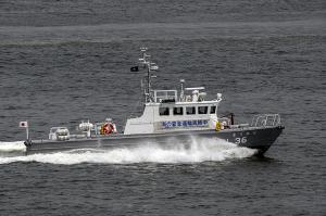 海上保安庁の警備艇「CL36 きりかぜ」