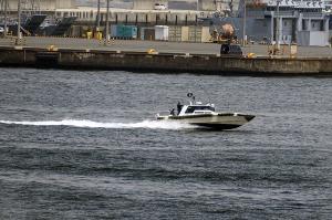 海上保安庁の監視取締艇「SS-67 れお(Leo)」